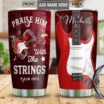 Electric Guitar Personalized NNR0401011Z Stainless Steel Tumbler