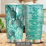 Turtle Ceramic Style Personalized KHR0401019Z Stainless Steel Tumbler