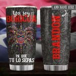 Puerto Rican Boricua Vejigante Personalized KD2 HRX0401003Z Stainless Steel Tumbler