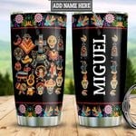Personalized Mexico Sugar Skull TTZ0401031Z Stainless Steel Tumbler