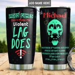 Personalized Video Game Lag TTZ0401039Z Stainless Steel Tumbler