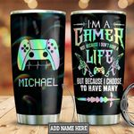 Personalized Gamer Life HLZ0401029Z Stainless Steel Tumbler