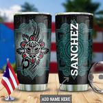 Personalized Puerto Rico Mandala Taino Sun HLZ0401035Z Stainless Steel Tumbler