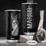 Wolf Personalized THA0401018Z Stainless Steel Tumbler