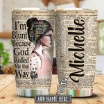Book God Girl Personalized KHA0401009Z Stainless Steel Tumbler