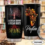 Black History Personalized THA0401012Z Stainless Steel Tumbler