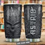 Metal Style Skull Personalized KD2 HNL0401008Z Stainless Steel Tumbler