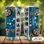 Blue Royal Hippie Van Dogs Personalized KD2 HAL0401003Z Stainless Steel Tumbler