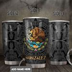 Personalized Mexico Symbol DNZ0501017Z Stainless Steel Tumbler