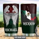 Personalized Mexico Faith Wings HLZ0501016Z Stainless Steel Tumbler