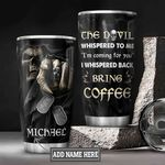 Personalized Skull Coffee DNZ0501022Z Stainless Steel Tumbler