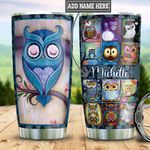 Personalized Owl TTZ0501019Z Stainless Steel Tumbler