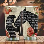 Wooden Style A Girl And Her Horse KD2 HAL0501008Z Stainless Steel Tumbler