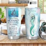 Mermaid Advice Personalized PYR0501014Z Stainless Steel Tumbler