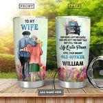 Police To My Wife Personalized HHA0501011Z Stainless Steel Tumbler