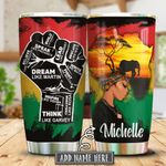 Black History KD4 Personalized KHA0501012Z Stainless Steel Tumbler