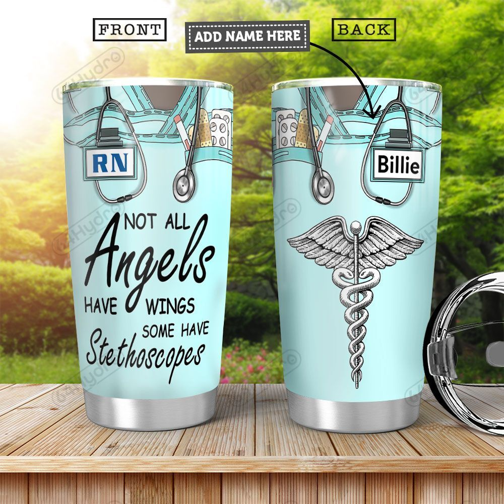 Nurse KD4 Personalized HHA0501008Z Stainless Steel Tumbler
