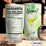 Margarita Facts KD4 Personalized THA0501017Z Stainless Steel Tumbler
