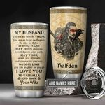 Personalized To My Husband Viking KD2 BGM0501010Z Stainless Steel Tumbler