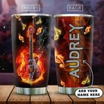 Personalized Electric Guitar KD2 HAM0501007Z Stainless Steel Tumbler