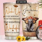 Elephant Personalized DNR2810009 Stainless Steel Tumbler