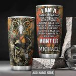 Personalized Wildlife Hunter HLZ3112015 Stainless Steel Tumbler