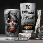 Personalized Skull DNZ3012009 Stainless Steel Tumbler