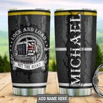 Personalized Trucker Hit The Road HLZ0601026Z Stainless Steel Tumbler