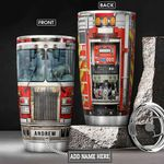 Fire Truck Personalized NNR0601013Z Stainless Steel Tumbler