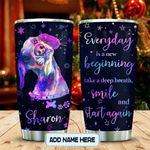 Hologram Happy Dachshund Personalized KD2 MAL0601013Z Stainless Steel Tumbler
