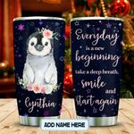 Happy Penguin Personalized KD2 MAL0601010Z Stainless Steel Tumbler