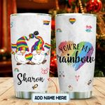 Gnome LGBT You Are My Rainbow Personalized KD2 MAL0601009Z Stainless Steel Tumbler