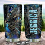 Abstract Art Style Cat Personalized KD2 HNL0601003Z Stainless Steel Tumbler