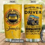Personalized School Bus Driver Logo BGM0701005Z Stainless Steel Tumbler