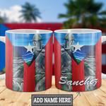 Personalized Puerto Rico Beach HLZ0701008Z Full Color Ceramic Mug