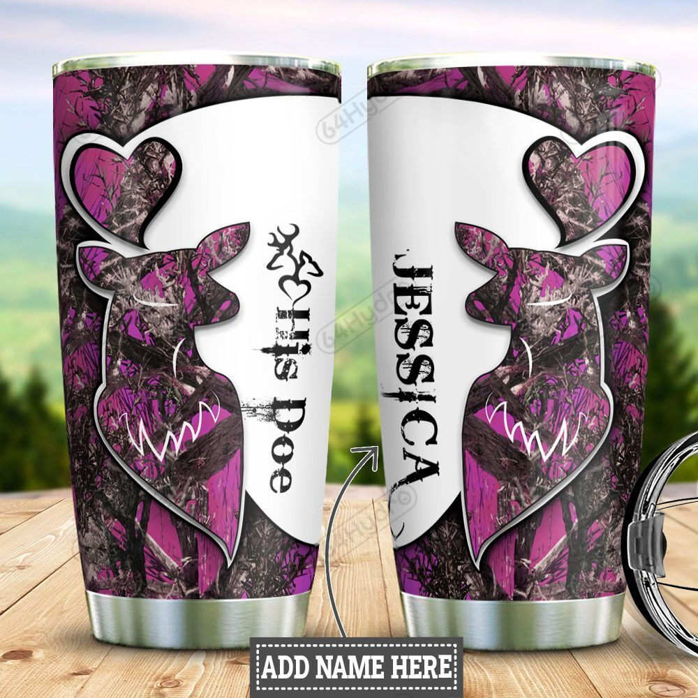 Personalized Hunting Couple Woman HLZ0701023Z Stainless Steel Tumbler