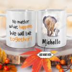 Personalized Mother Elephant DNZ0701006Z Full Color Ceramic Mug