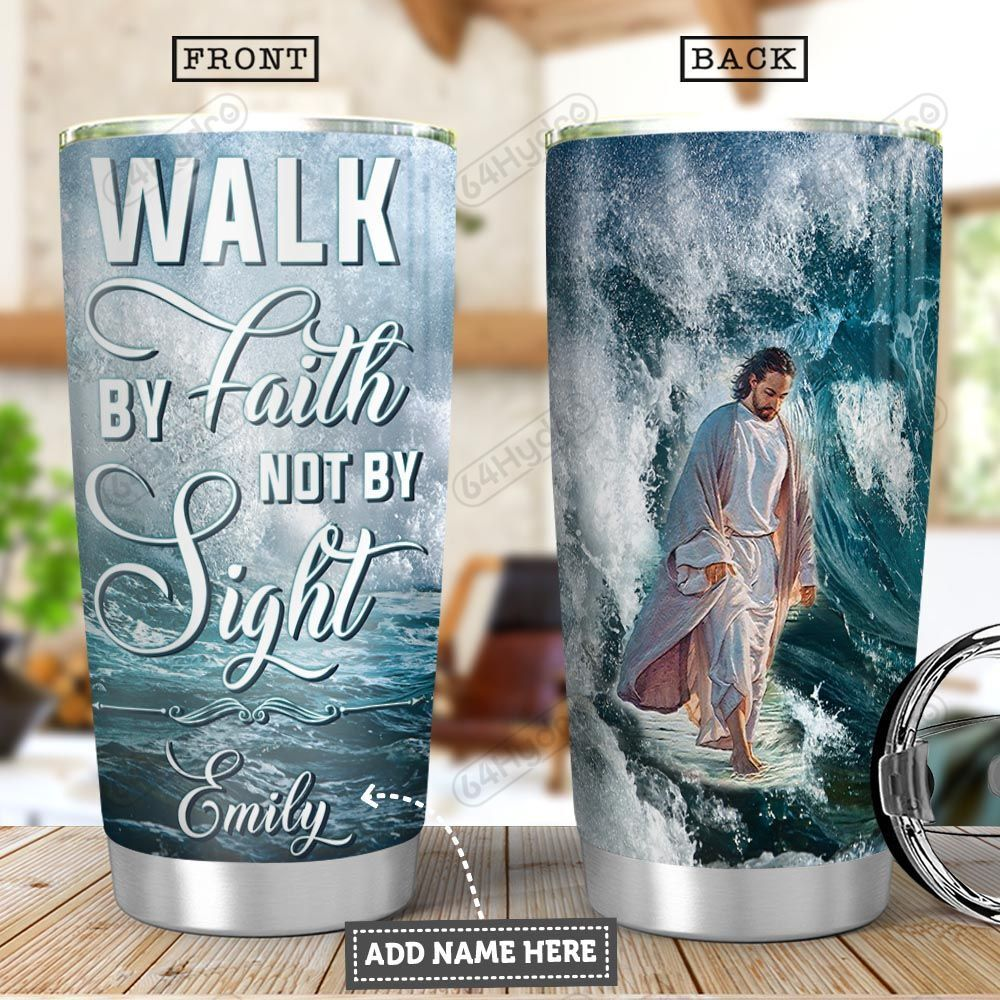 Faith Personalized PYR0701010Z Stainless Steel Tumbler