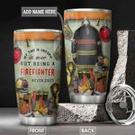 Firefighter Personalized NNR0701014Z Stainless Steel Tumbler