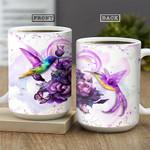 Hummingbird Couple NNR0701002Z Full Color Ceramic Mug