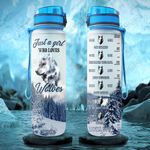 Wolf Lover PYR0701005Z Water Tracker Bottle