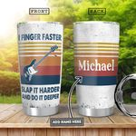 Bass Guitar Vintage Personalized HHA0701001Z Stainless Steel Tumbler