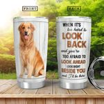 Golden Retriever HHA0701004Z Stainless Steel Tumbler