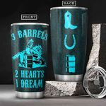 Horse Racing HHA0701005Z Stainless Steel Tumbler