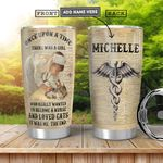 Nurse Cat Personalized HHA0701007Z Stainless Steel Tumbler