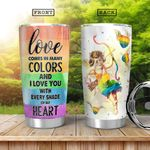 LGBT Cupid HHA0701006Z Stainless Steel Tumbler