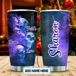 Faith Hope Love Skull Personalized KD2 MAL0701005Z Stainless Steel Tumbler