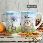 Dandelion Sloth KD2 HAL0701001Z Full Color Ceramic Mug