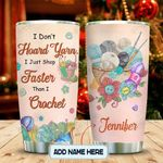 Crochet Lover Personalized KD2 MAL0601008Z Stainless Steel Tumbler