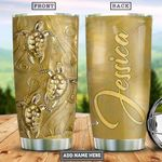 Turtle Gold Style Personalized PYR0801011Z Stainless Steel Tumbler